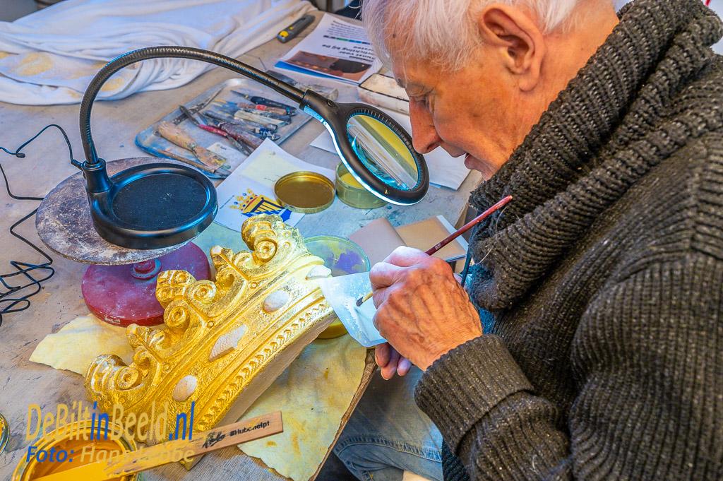 De Bilt 75 Jaar Bevrijding Gemeentewapen Philip van der Zeeuw Foto: Hans Lebbe / HLP images