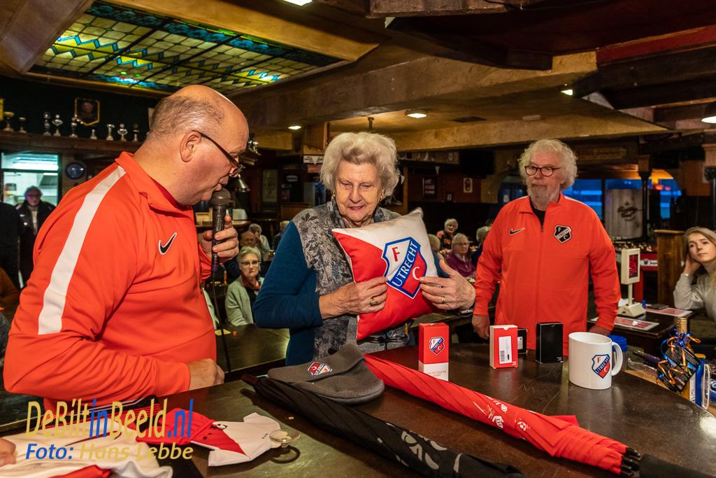 Rabobank FC De Bilt Bingo ouderen