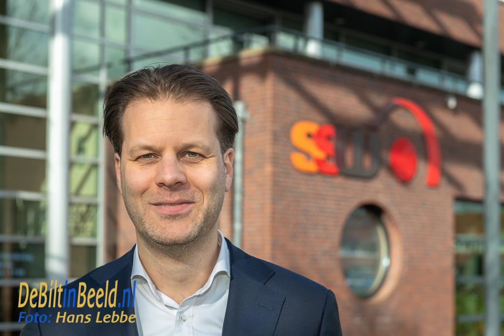 SSW Danny Visser directeur-bestuurder Woonstichting SSW. Foto: Hans Lebbe / HLP images