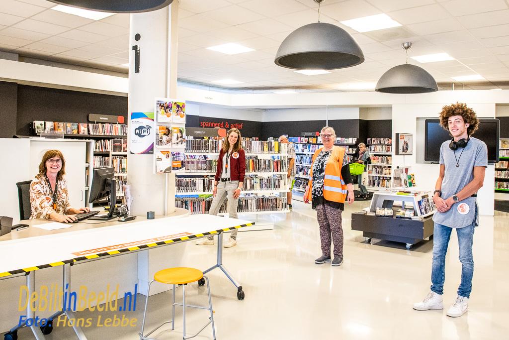 Bibliotheek IDEA Bilthoven weer open. Foto: Hans Lebbe / HLP images
