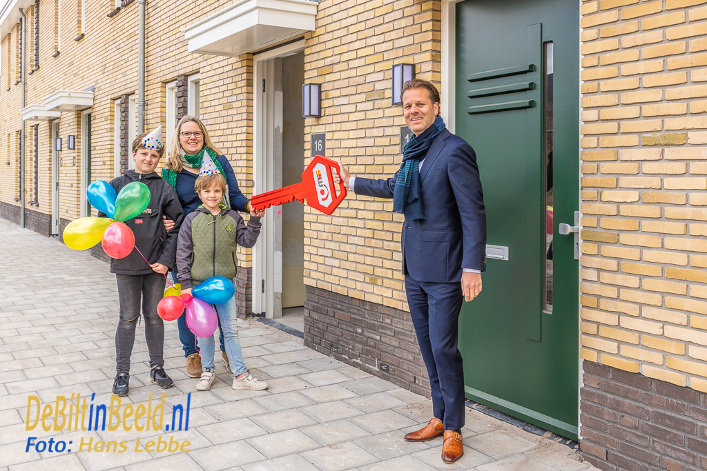 SSW Eerste Sleutel Hof van Bilthoven. Foto: Hans Lebbe / HLP images