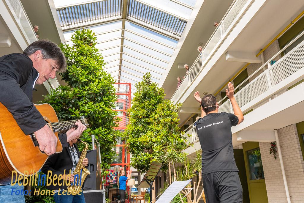 SSW Optreden en bewegen met Kunstenhuis en MENS De Bilt Dijckstate. Foto: Hans Lebbe / HLP images