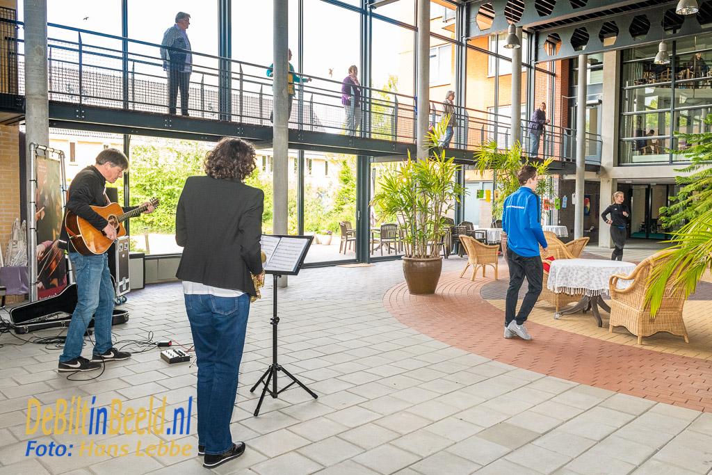 SSW Optreden en bewegen met Kunstenhuis en MENS De Bilt Lugtenstein. Foto: Hans Lebbe / HLP images