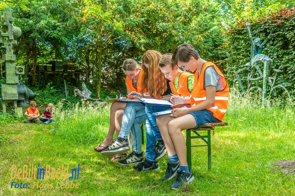 Atelier Jits Bakker Kunstlessen Juliana School. Foto: Hans Lebbe / HLP images